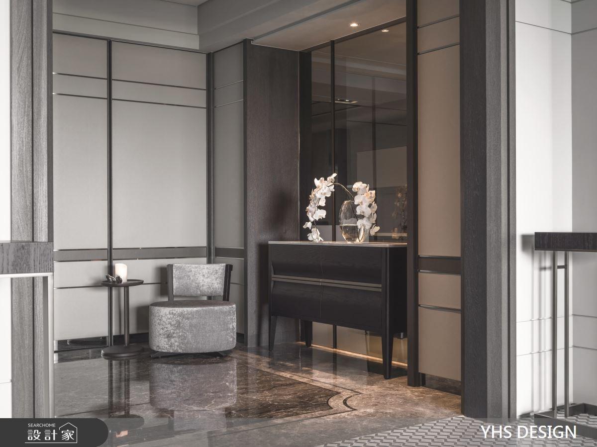 76坪新成屋(5年以下)_新古典玄關案例圖片_YHS DESIGN設計事業_YHS_雍容之3
