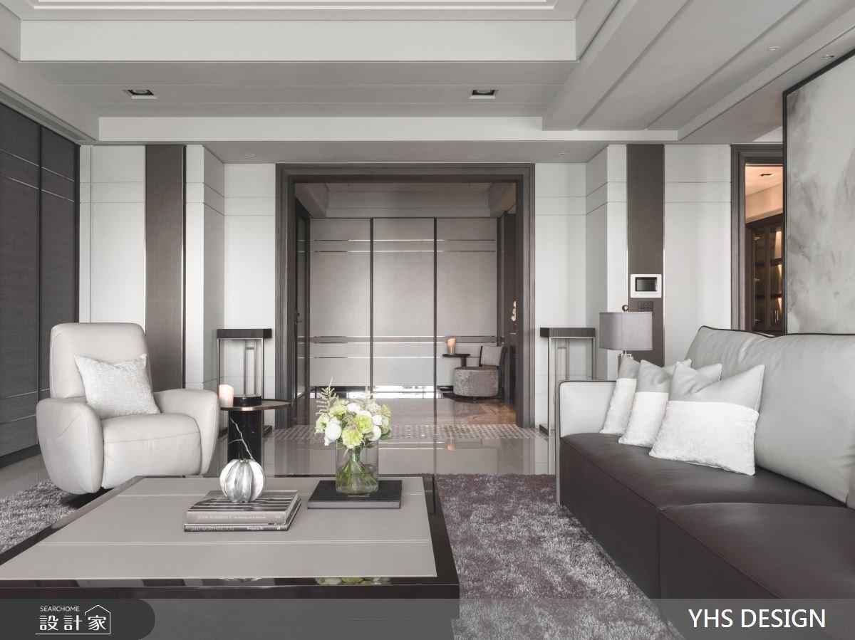 76坪新成屋(5年以下)_新古典玄關客廳案例圖片_YHS DESIGN設計事業_YHS_雍容之4