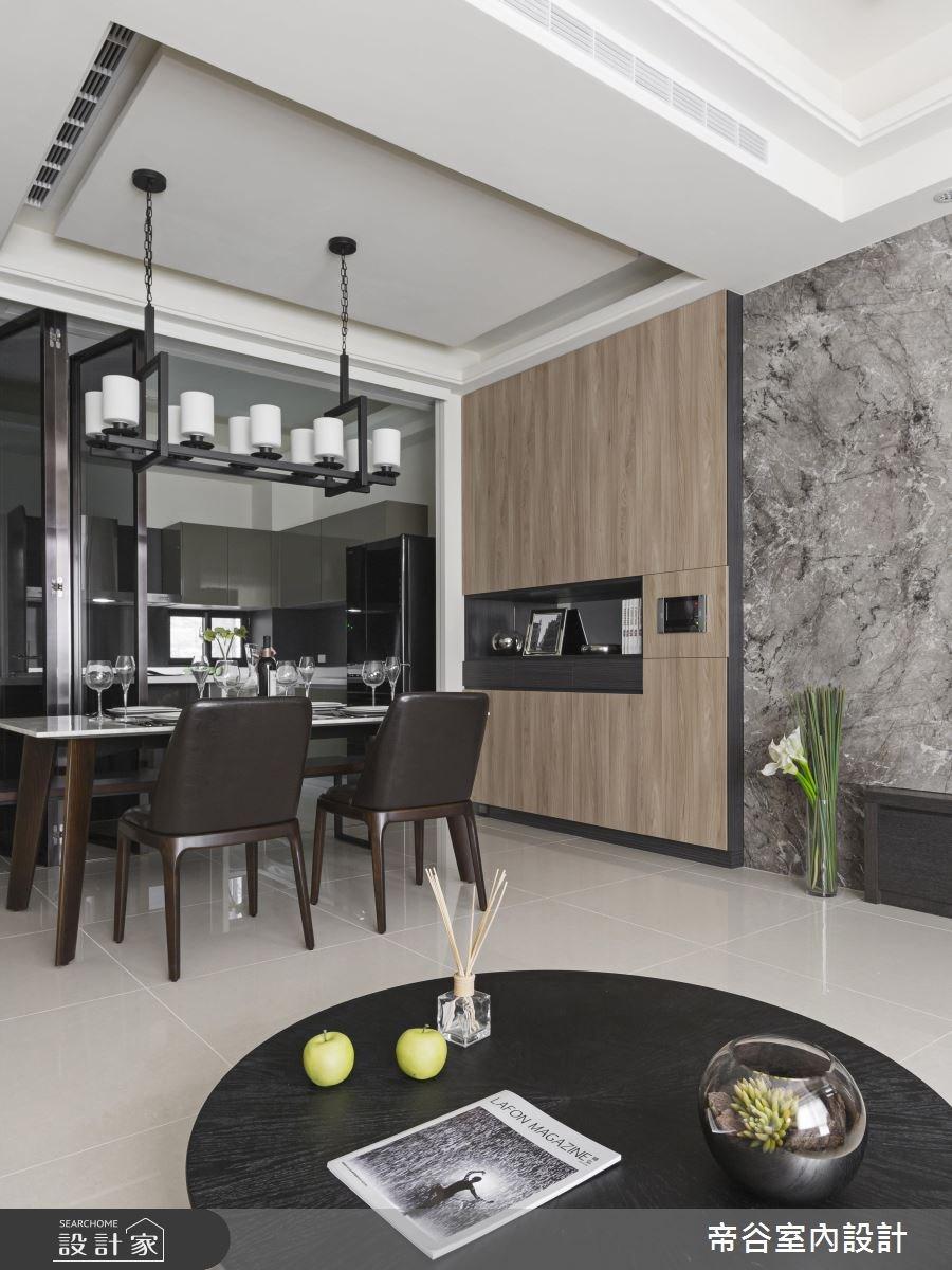 88坪新成屋(5年以下)_現代風客廳餐廳案例圖片_帝谷室內裝修設計有限公司_帝谷_04之3