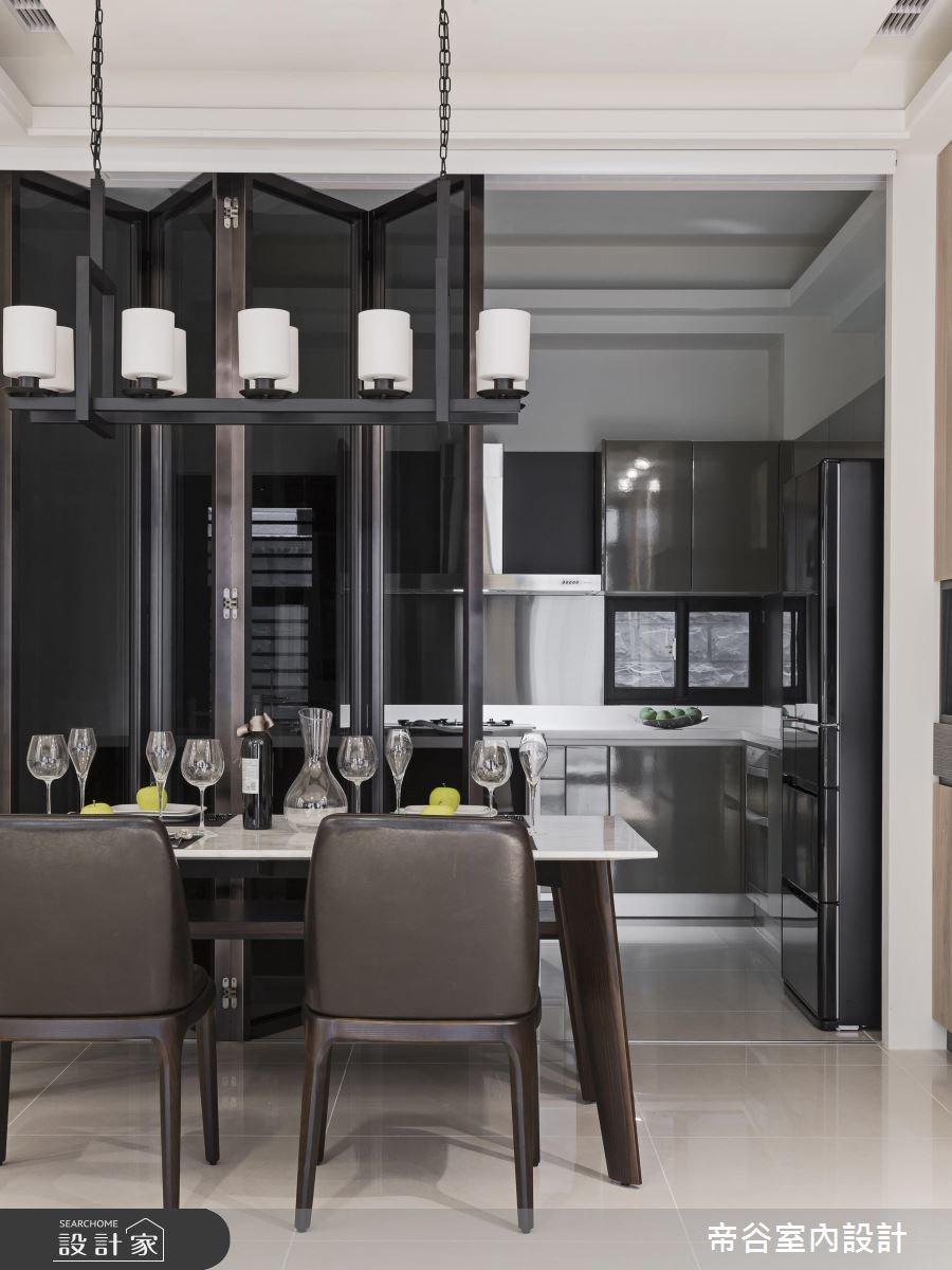88坪新成屋(5年以下)_現代風餐廳案例圖片_帝谷室內裝修設計有限公司_帝谷_04之4