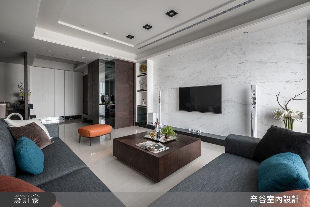 50坪新成屋(5年以下)_現代風客廳案例圖片_帝谷室內裝修設計有限公司_帝谷_05之4