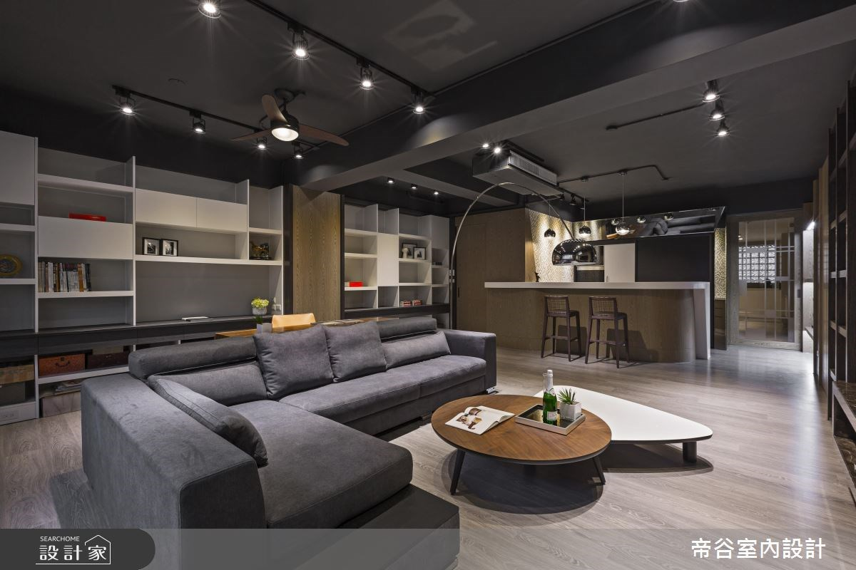 98坪中古屋(5~15年)_現代風客廳案例圖片_帝谷室內裝修設計有限公司_帝谷_07之2