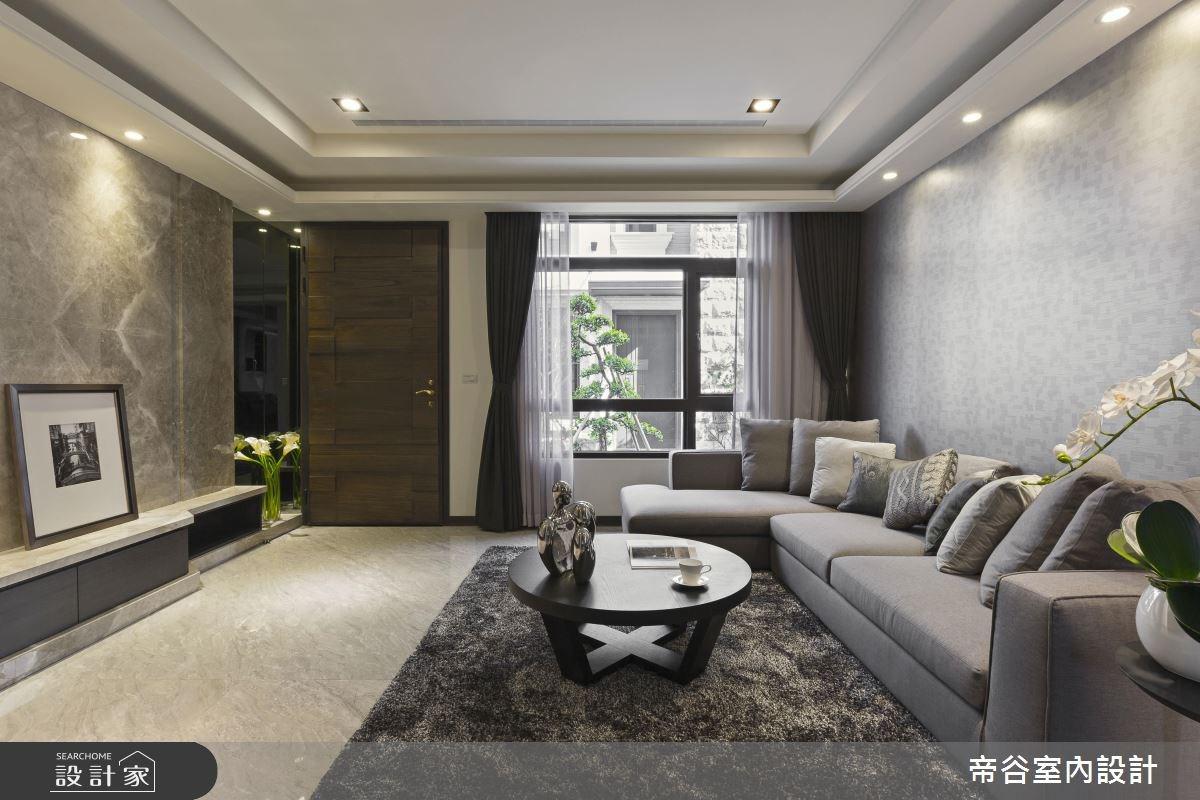 95坪新成屋(5年以下)_現代風客廳案例圖片_帝谷室內裝修設計有限公司_帝谷_09之2