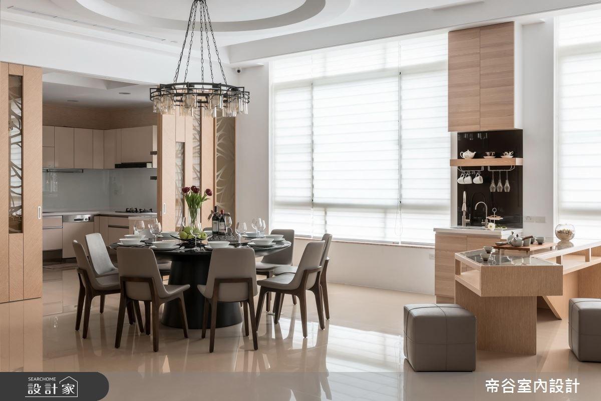 100坪_現代風餐廳廚房案例圖片_帝谷室內裝修設計有限公司_帝谷_12之6