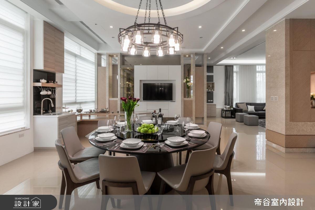 100坪_現代風餐廳案例圖片_帝谷室內裝修設計有限公司_帝谷_12之7