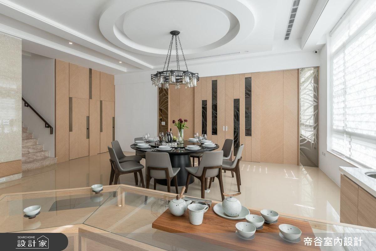 100坪_現代風餐廳案例圖片_帝谷室內裝修設計有限公司_帝谷_12之8