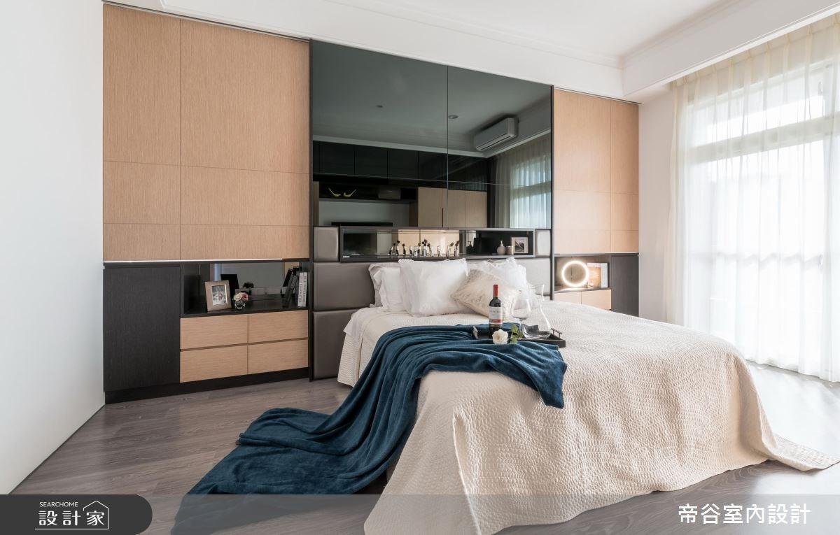 100坪_現代風臥室案例圖片_帝谷室內裝修設計有限公司_帝谷_12之9