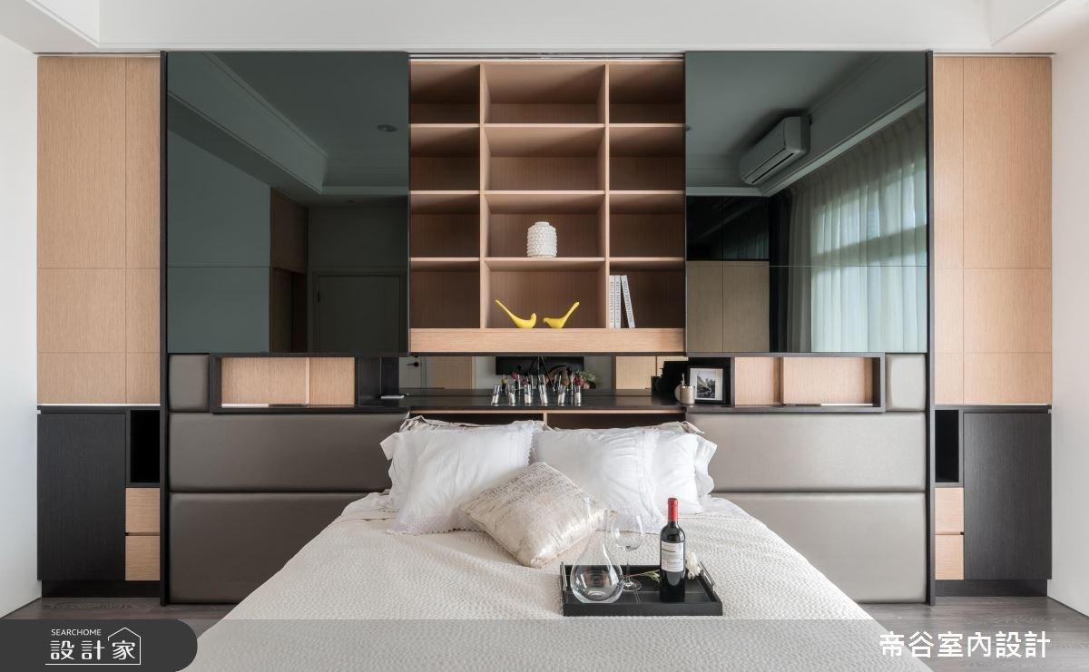 100坪_現代風臥室案例圖片_帝谷室內裝修設計有限公司_帝谷_12之10