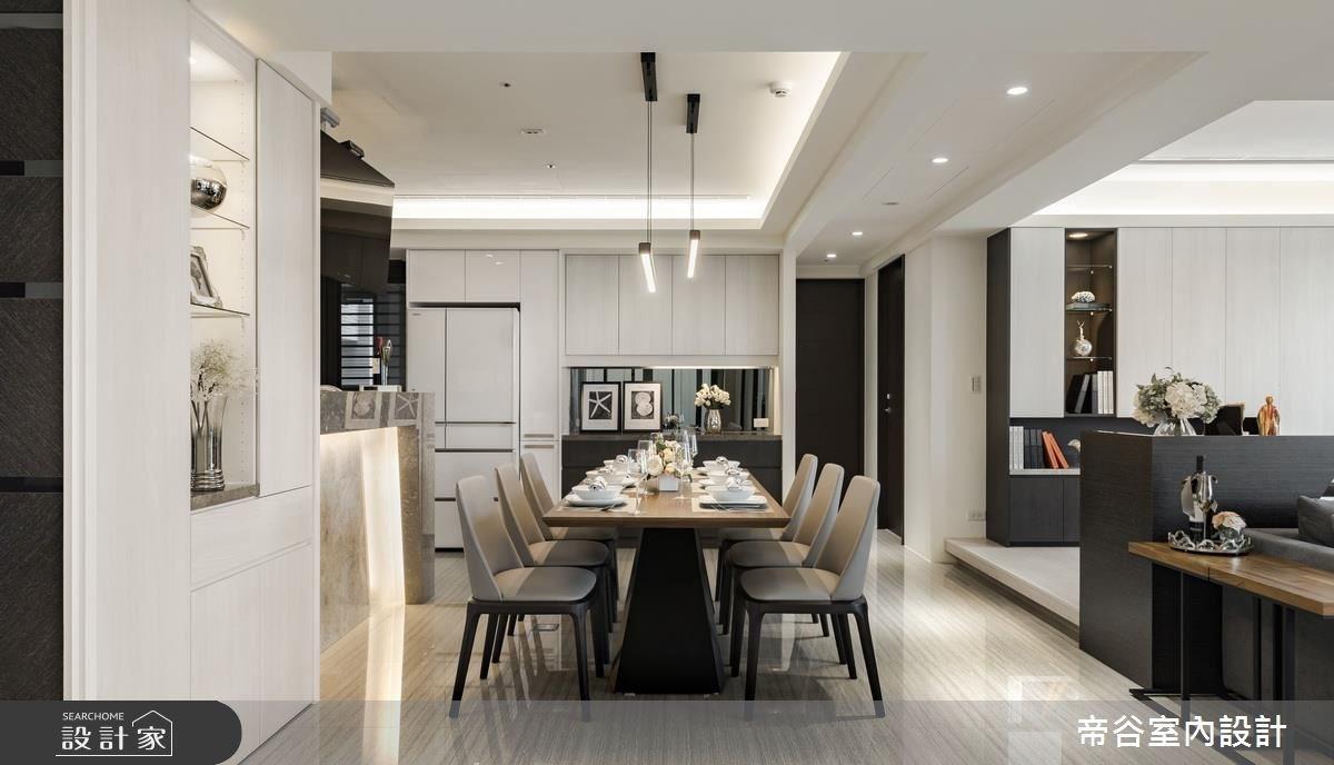 80坪新成屋(5年以下)_現代風餐廳案例圖片_帝谷室內裝修設計有限公司_帝谷_14之4