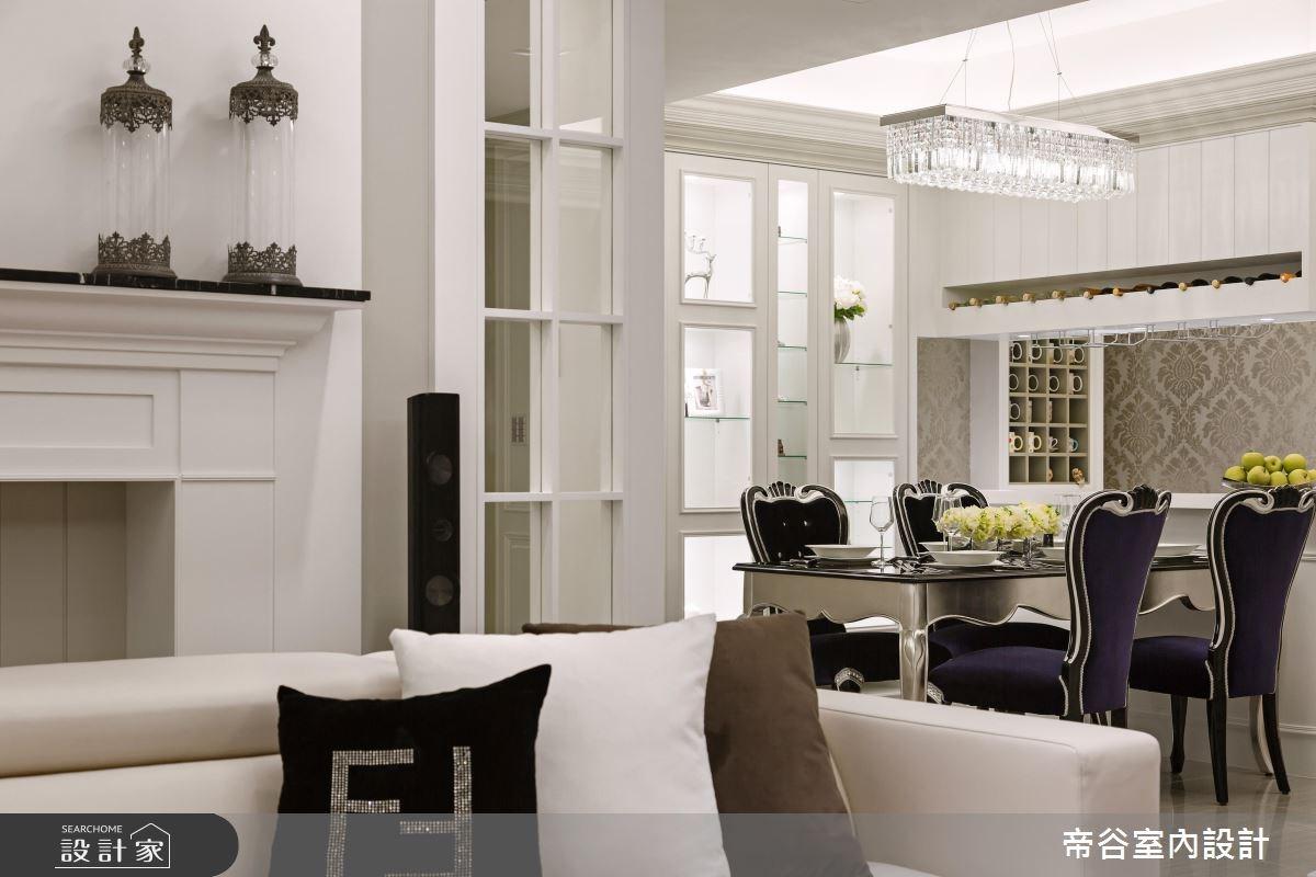 60坪新成屋(5年以下)_美式風餐廳案例圖片_帝谷室內裝修設計有限公司_帝谷_16之4