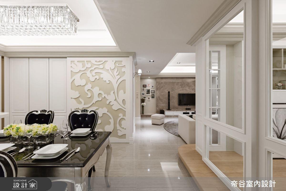 60坪新成屋(5年以下)_美式風餐廳案例圖片_帝谷室內裝修設計有限公司_帝谷_16之5