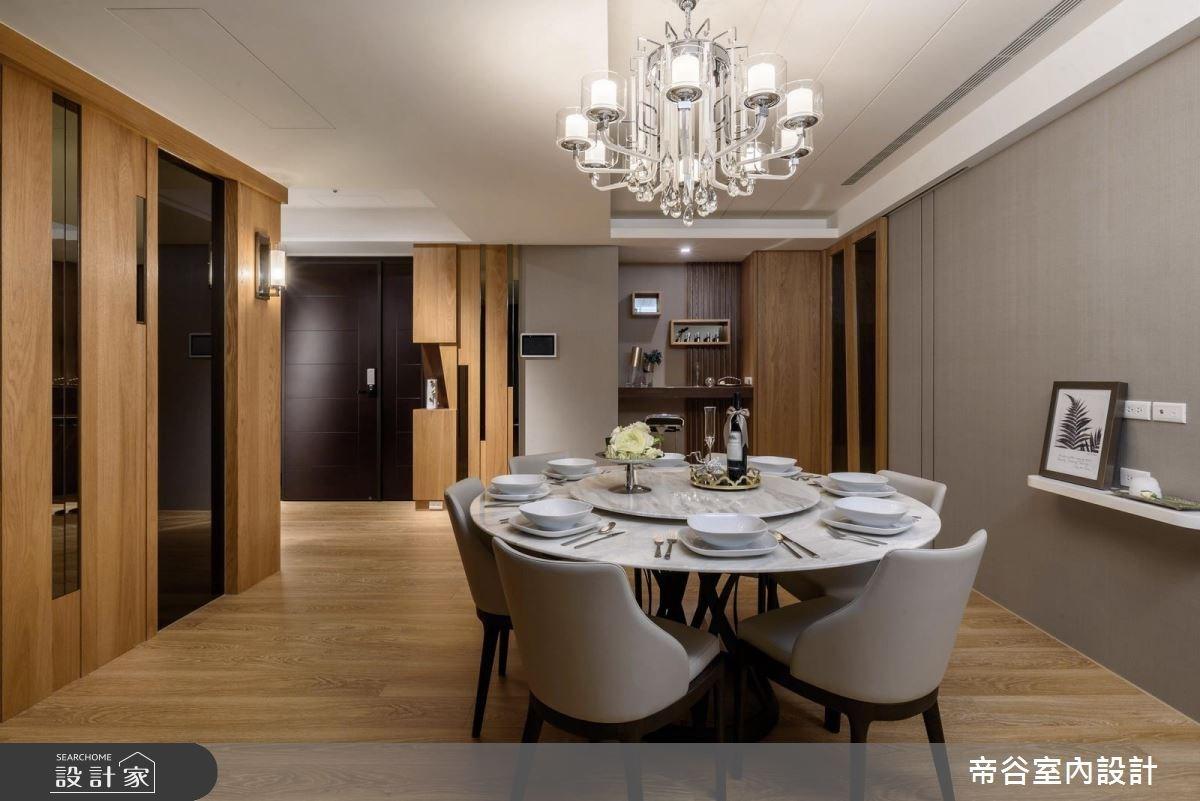 90坪新成屋(5年以下)_混搭風玄關餐廳案例圖片_帝谷室內裝修設計有限公司_帝谷_18之3