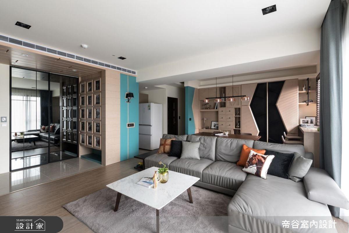 23坪新成屋(5年以下)_北歐風客廳案例圖片_帝谷室內裝修設計有限公司_帝谷_20之4