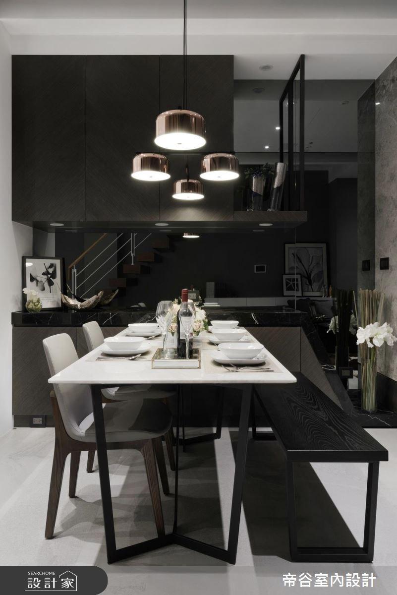 60坪新成屋(5年以下)_現代風餐廳案例圖片_帝谷室內裝修設計有限公司_帝谷_21之6