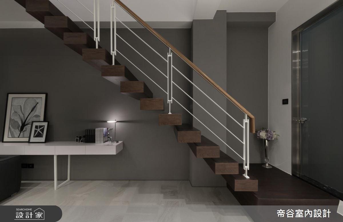 60坪新成屋(5年以下)_現代風樓梯案例圖片_帝谷室內裝修設計有限公司_帝谷_21之7