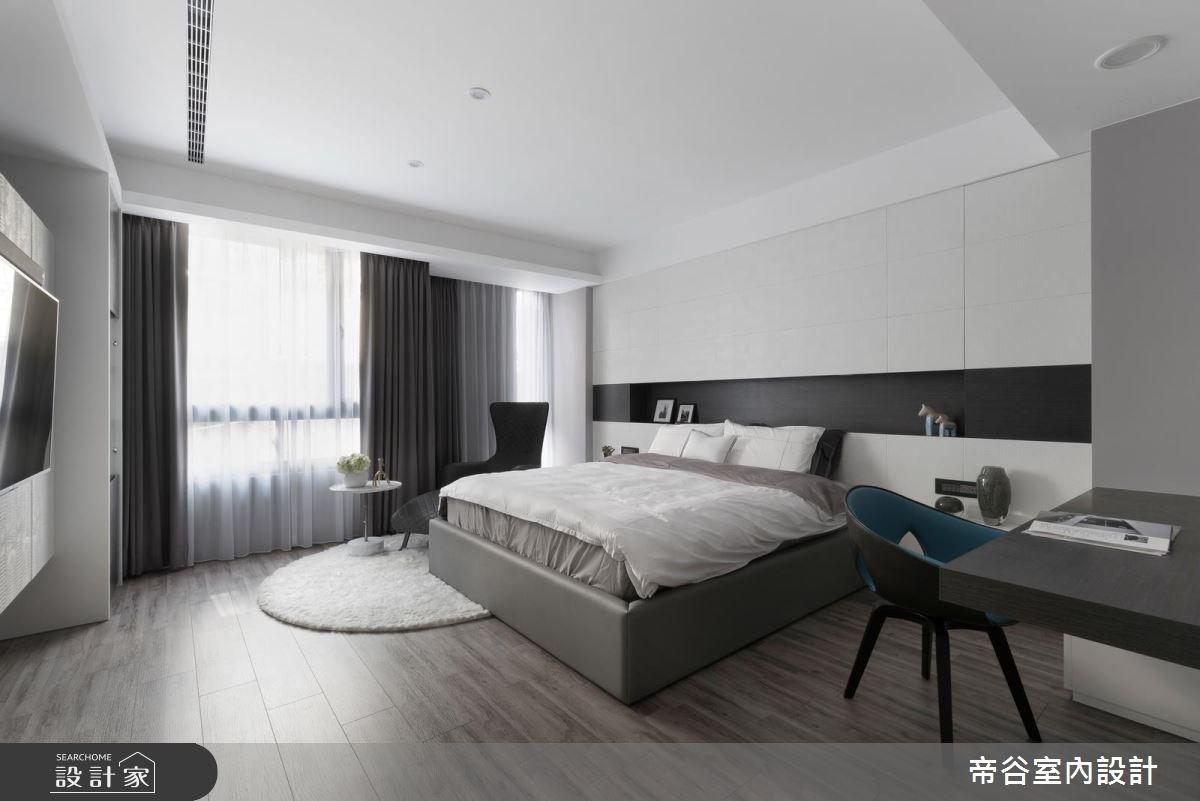 60坪新成屋(5年以下)_現代風臥室案例圖片_帝谷室內裝修設計有限公司_帝谷_21之8