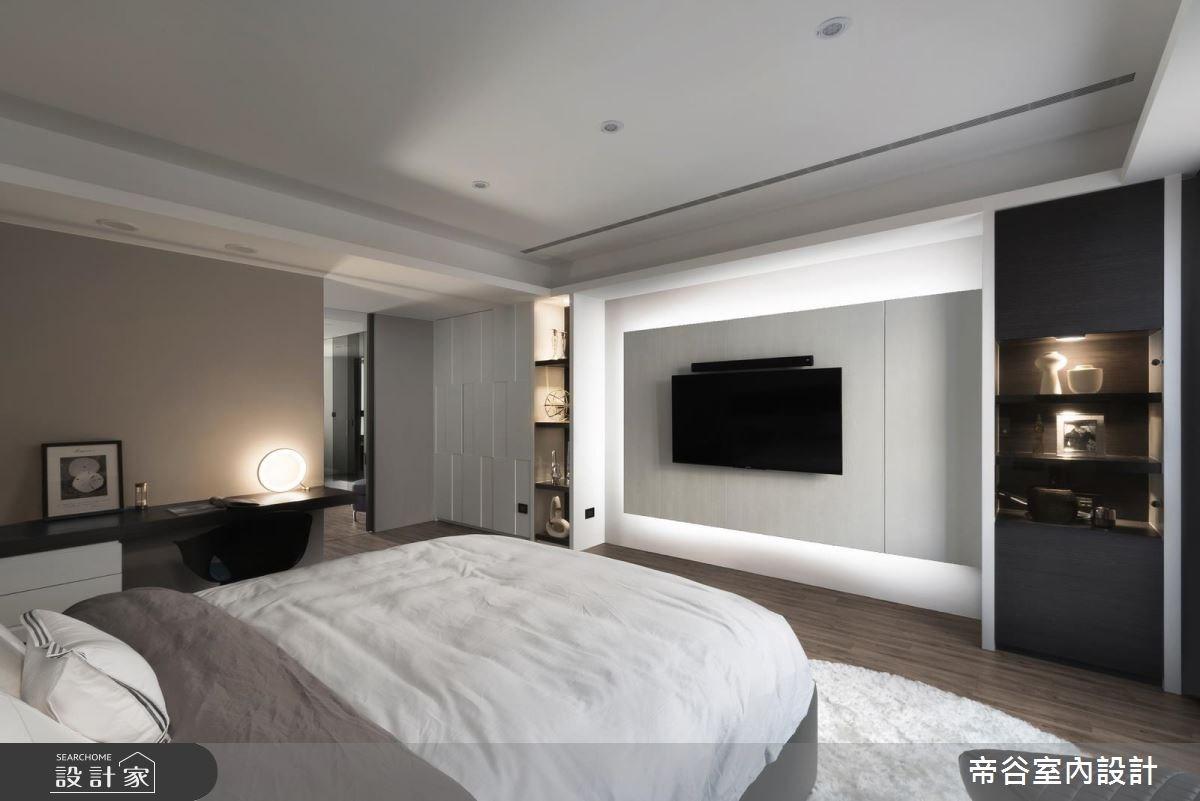 60坪新成屋(5年以下)_現代風臥室案例圖片_帝谷室內裝修設計有限公司_帝谷_21之9