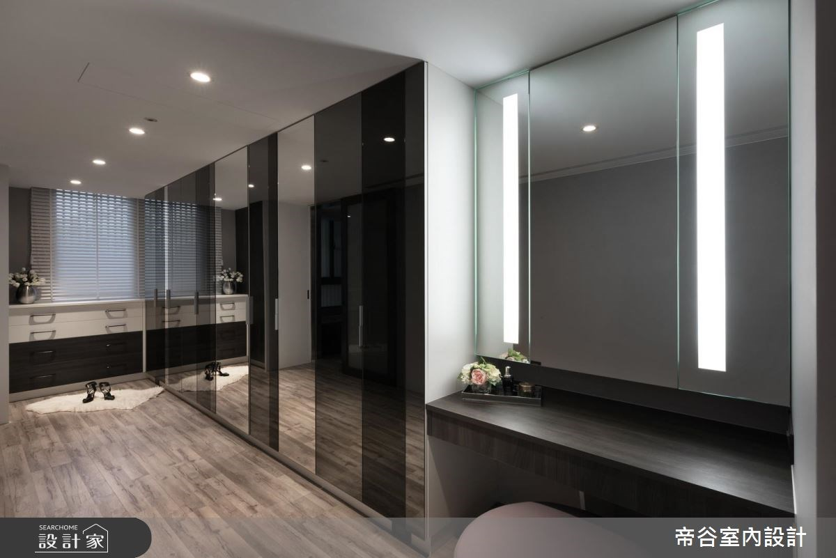 60坪新成屋(5年以下)_現代風更衣間案例圖片_帝谷室內裝修設計有限公司_帝谷_21之12