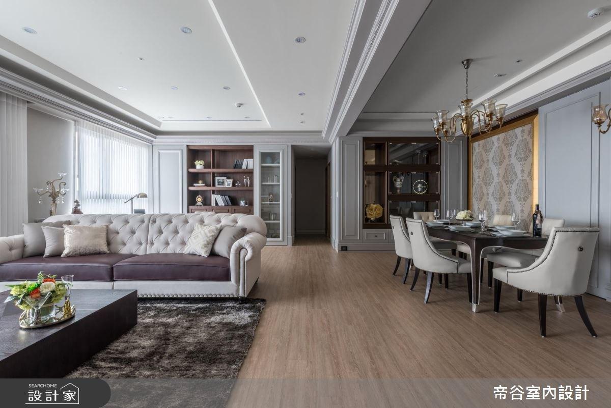 50坪新成屋(5年以下)_美式風客廳餐廳案例圖片_帝谷室內裝修設計有限公司_帝谷_22之2