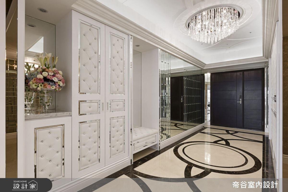 110坪新成屋(5年以下)_新古典玄關案例圖片_帝谷室內裝修設計有限公司_帝谷_24之3