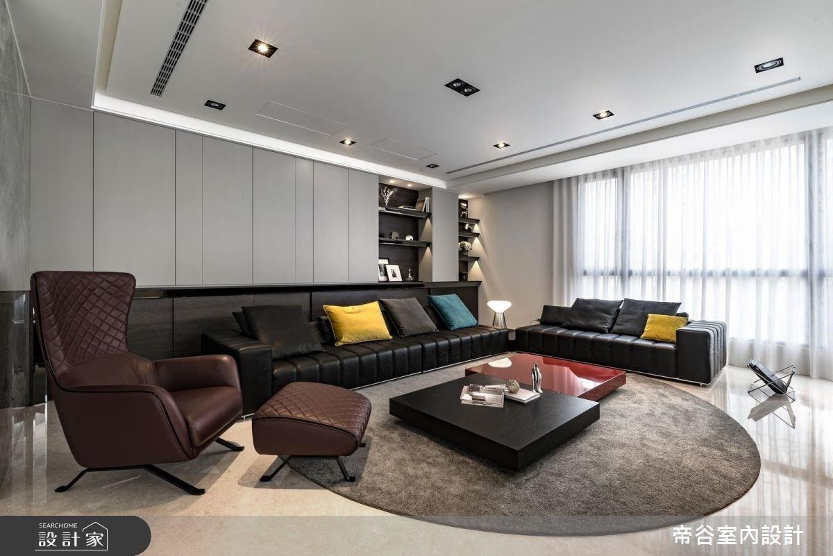 150坪新成屋(5年以下)_現代風客廳案例圖片_帝谷室內裝修設計有限公司_帝谷_25之2