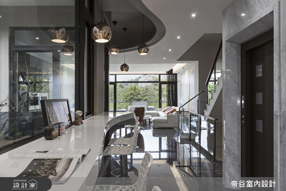 200坪預售屋_現代風吧檯案例圖片_帝谷室內裝修設計有限公司_帝谷_27之3