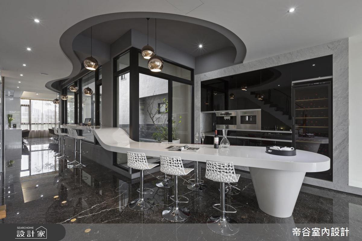 200坪預售屋_現代風吧檯案例圖片_帝谷室內裝修設計有限公司_帝谷_27之4