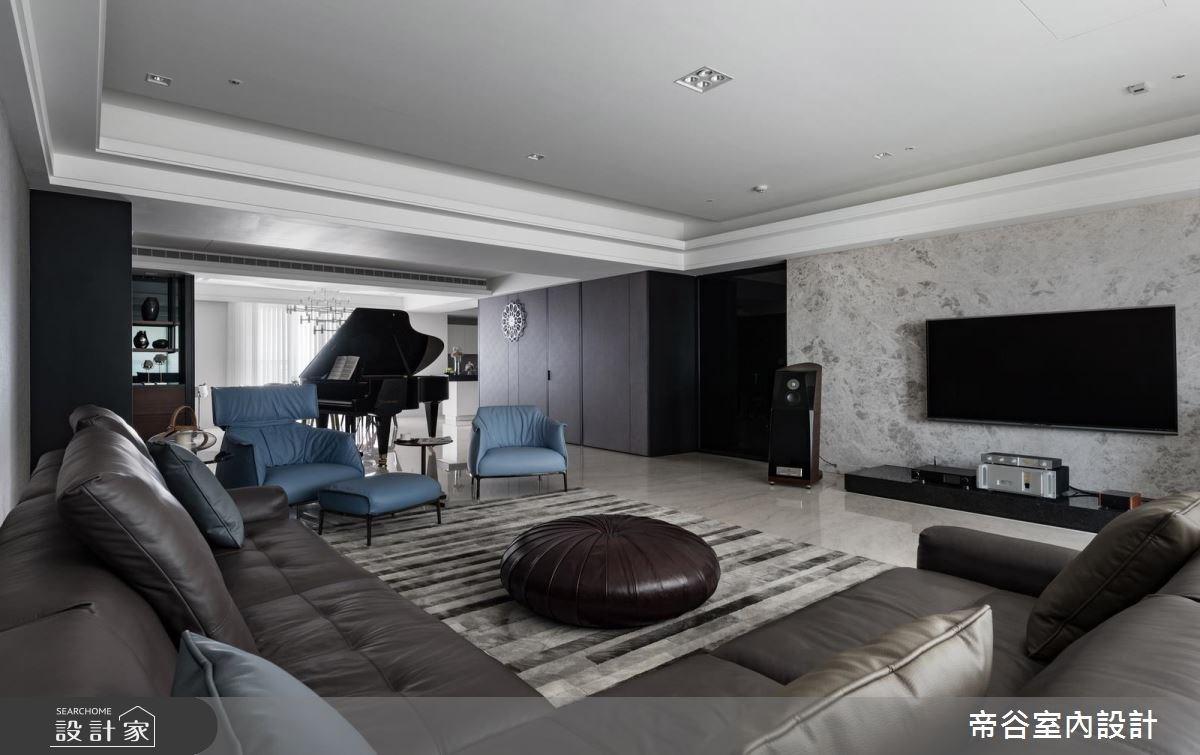 80坪預售屋_現代風客廳案例圖片_帝谷室內裝修設計有限公司_帝谷_29之1