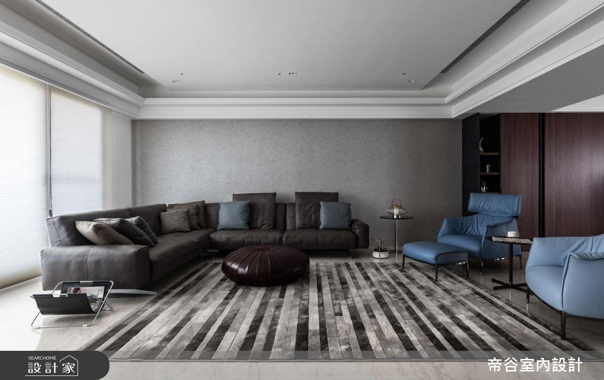 80坪預售屋_現代風客廳案例圖片_帝谷室內裝修設計有限公司_帝谷_29之2
