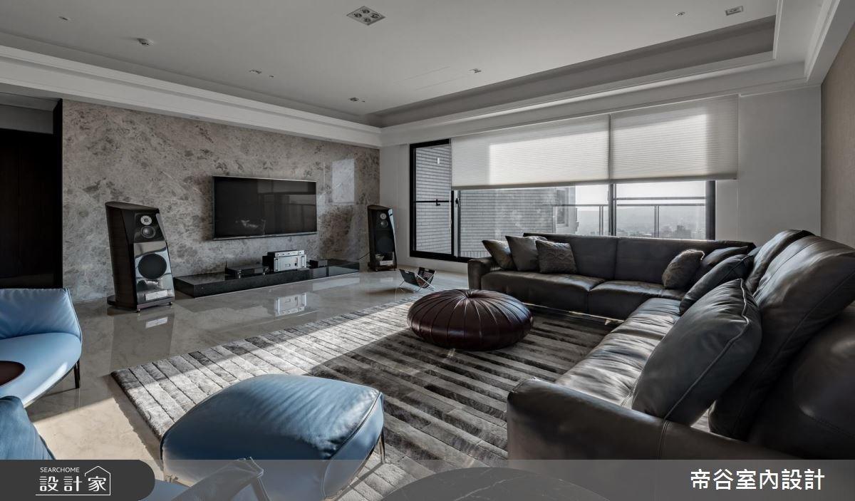 80坪預售屋_現代風客廳案例圖片_帝谷室內裝修設計有限公司_帝谷_29之3