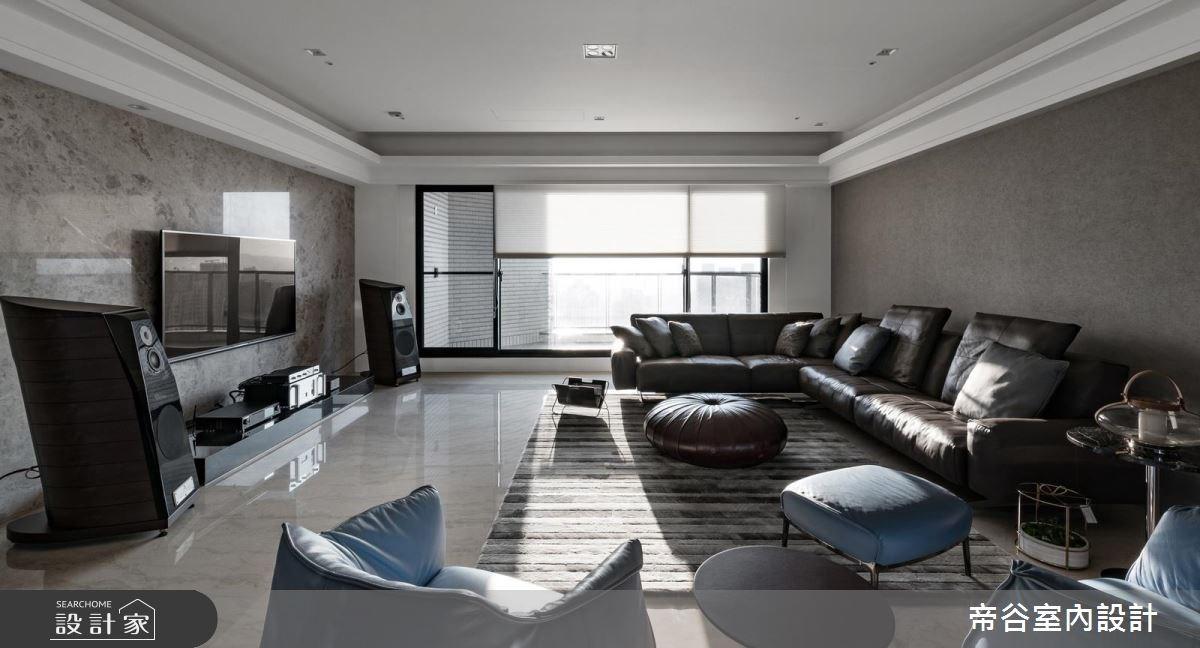 80坪預售屋_現代風客廳案例圖片_帝谷室內裝修設計有限公司_帝谷_29之4