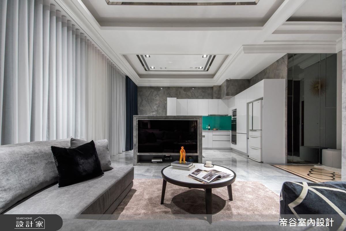50坪新成屋(5年以下)_現代風客廳案例圖片_帝谷室內裝修設計有限公司_帝谷_34之1
