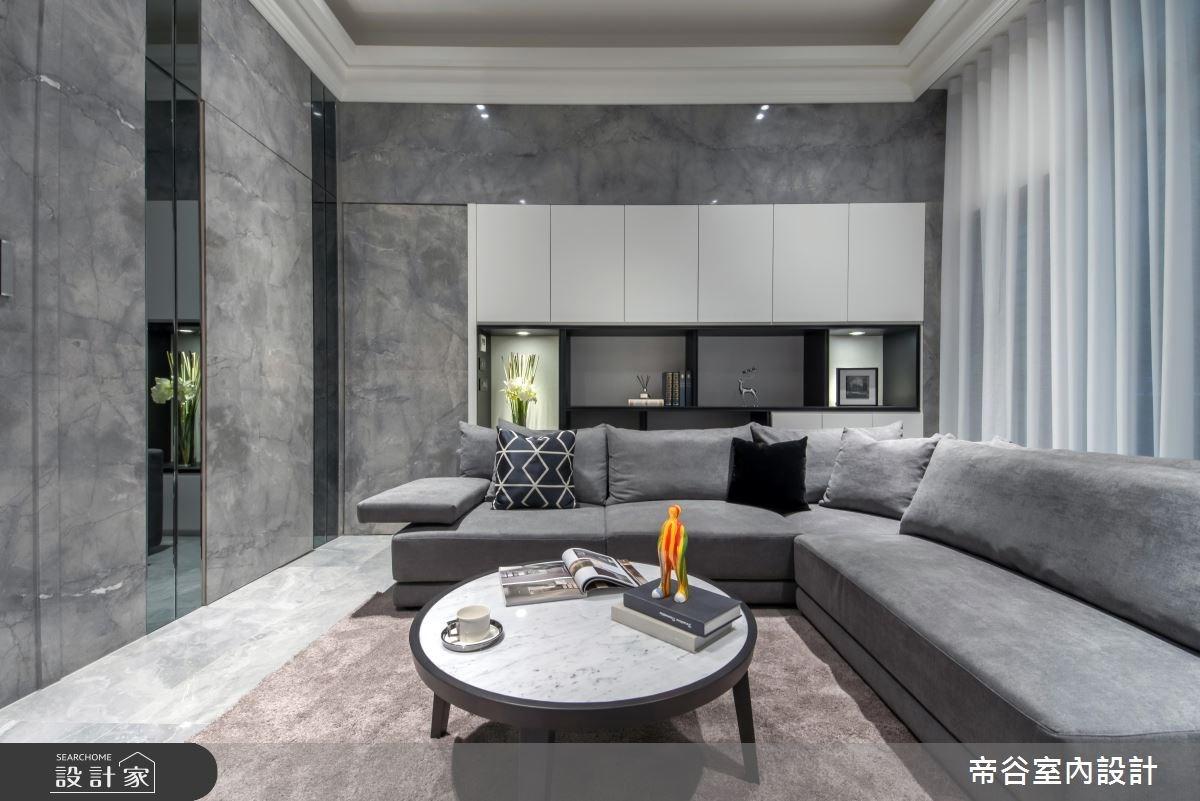 50坪新成屋(5年以下)_現代風客廳案例圖片_帝谷室內裝修設計有限公司_帝谷_34之2