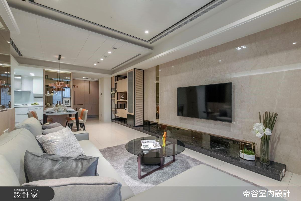 30坪預售屋_現代風客廳案例圖片_帝谷室內裝修設計有限公司_帝谷_36之4