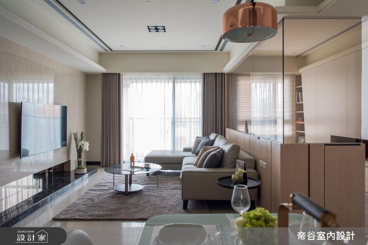 30坪預售屋_現代風客廳案例圖片_帝谷室內裝修設計有限公司_帝谷_36之3