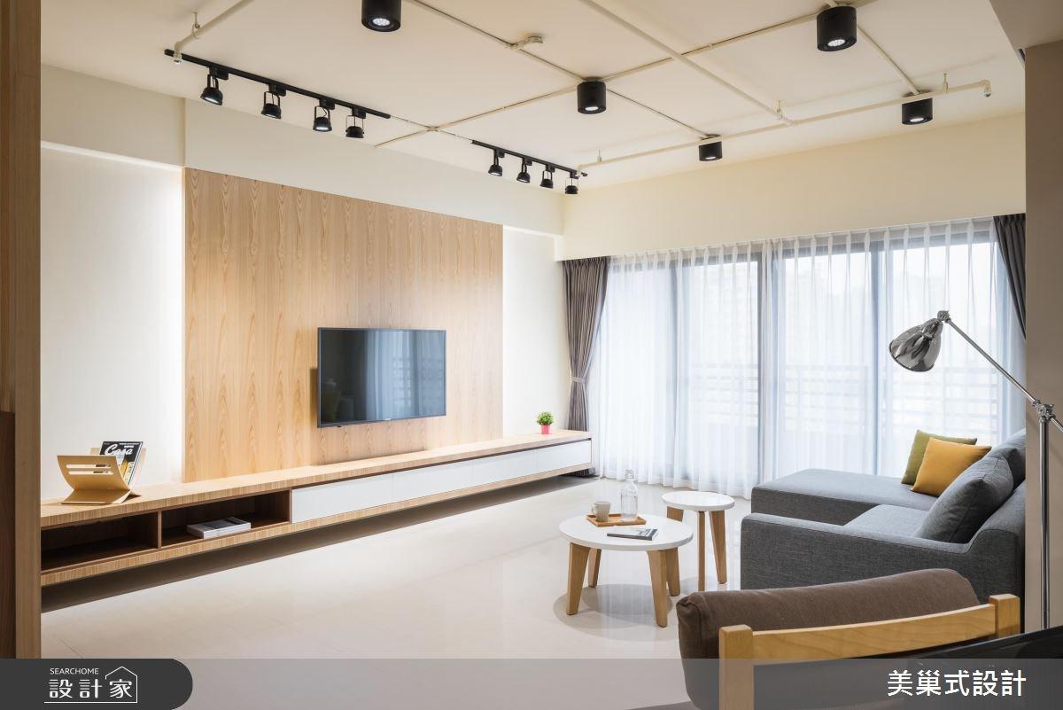 50坪中古屋(5~15年)_工業風案例圖片_美巢式空間規劃設計有限公司_美巢式_01之3