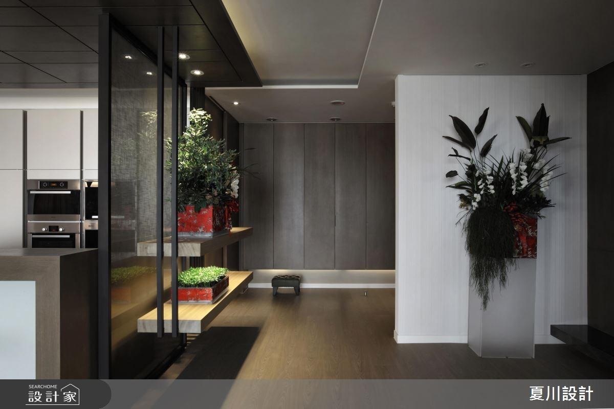 87坪中古屋(5~15年)_混搭風玄關案例圖片_夏川空間設計工作室_夏川_05之2