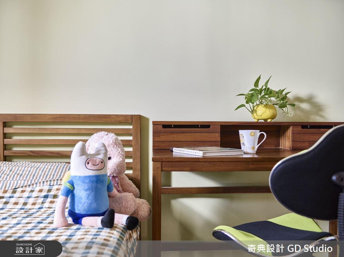 25坪新成屋(5年以下)_休閒風臥室案例圖片_奇典設計_奇典_01之12