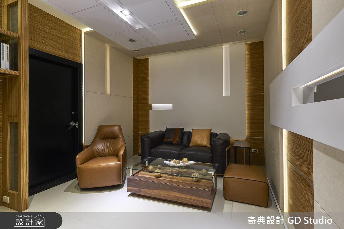40坪老屋(16~30年)_現代風客廳案例圖片_奇典設計_奇典_06之3