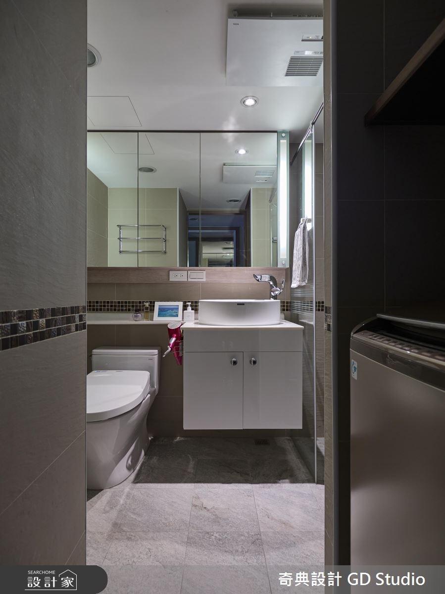 10坪老屋(16~30年)_休閒風浴室案例圖片_奇典設計_奇典_08之12