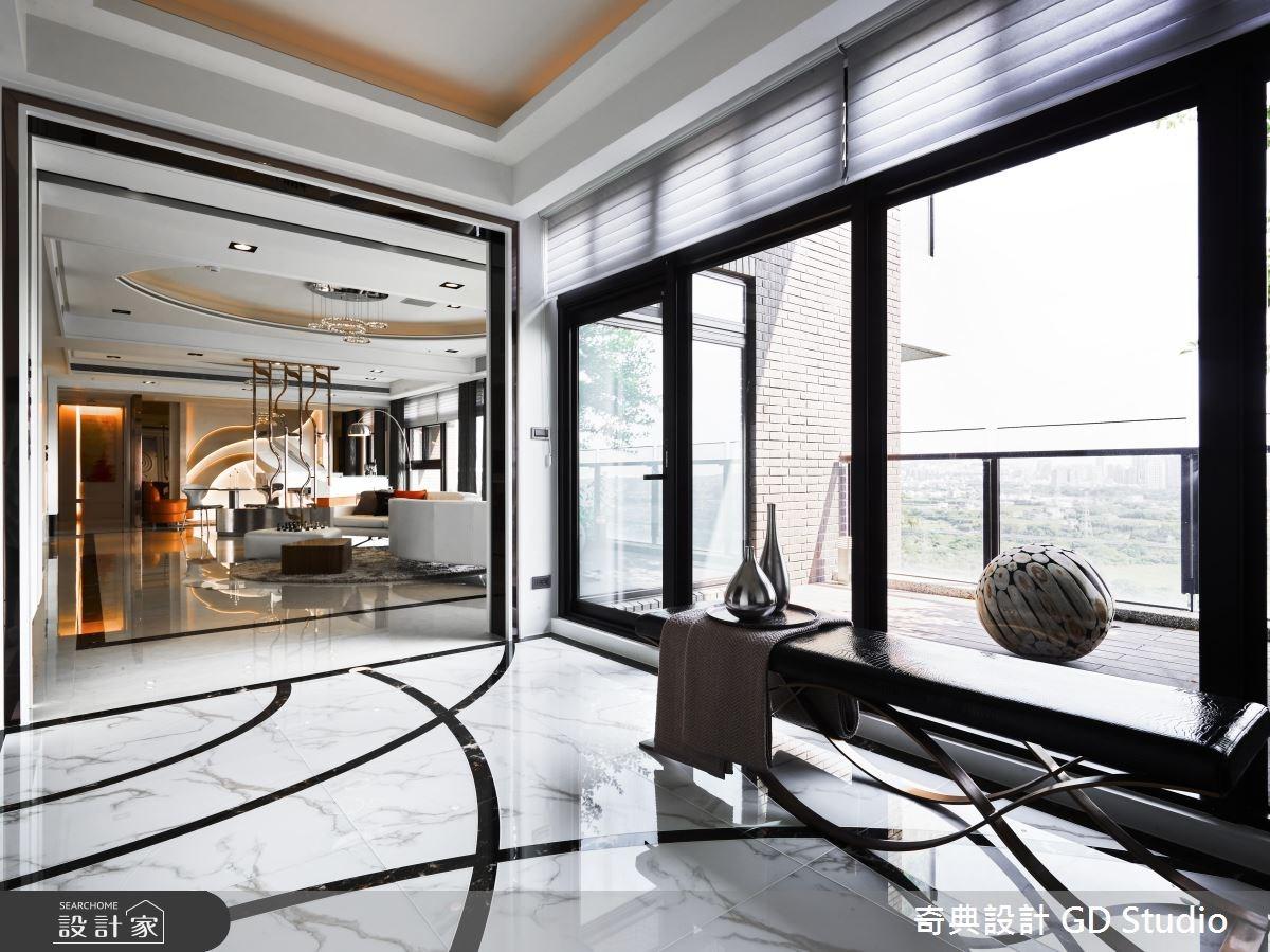 70坪新成屋(5年以下)_現代風玄關客廳案例圖片_奇典設計_奇典_10之1