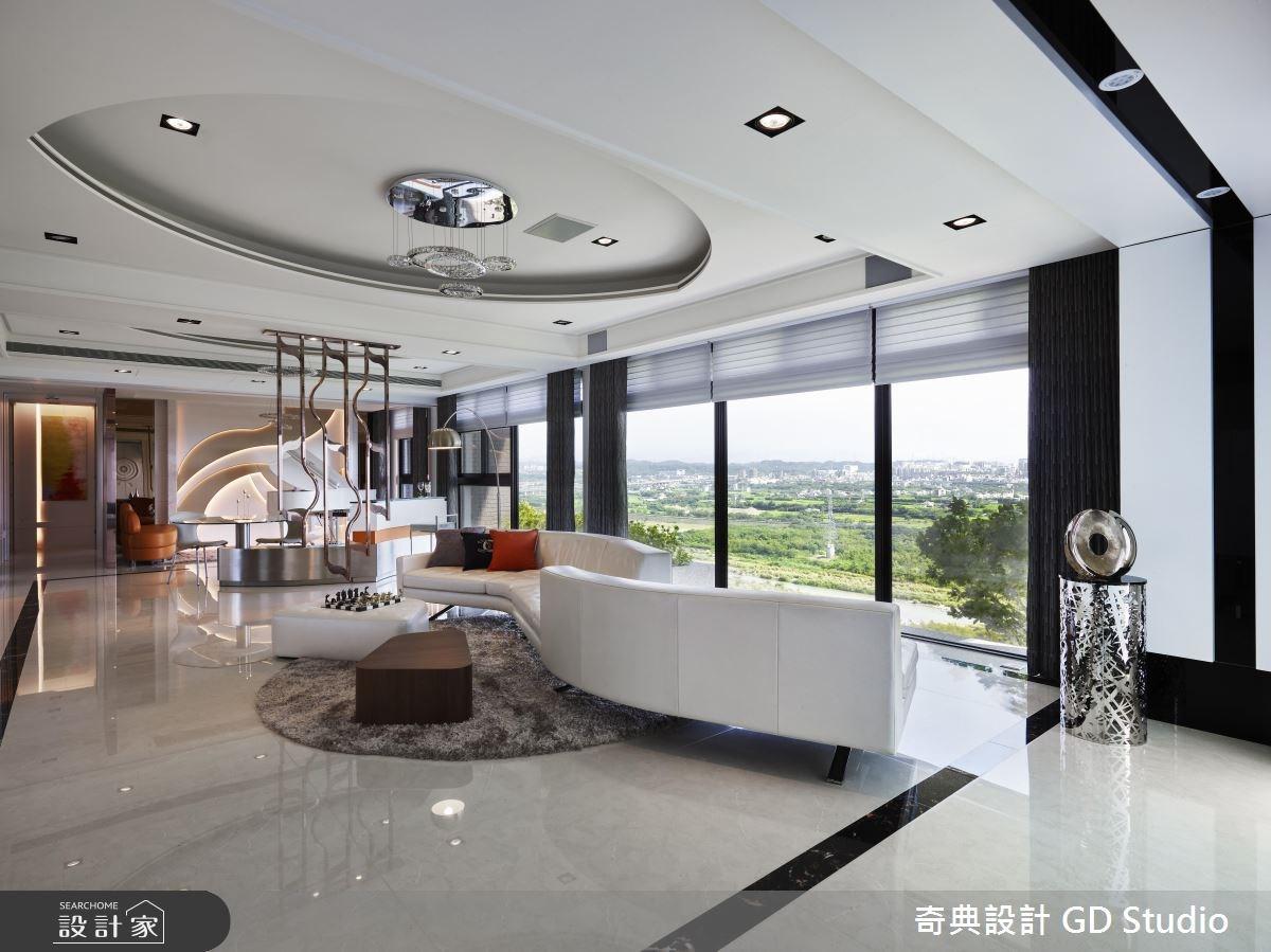 70坪新成屋(5年以下)_現代風客廳案例圖片_奇典設計_奇典_10之2