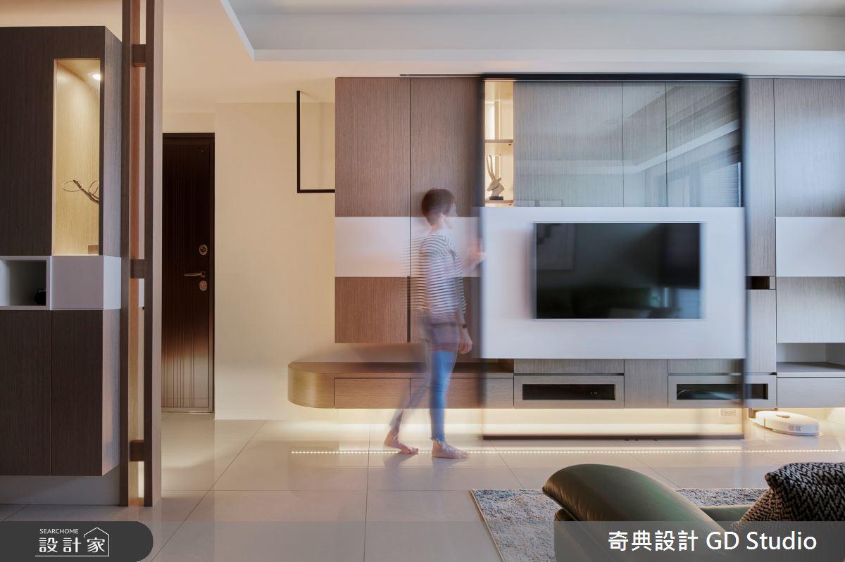 23坪新成屋(5年以下)_現代風客廳案例圖片_奇典設計_奇典_15之4