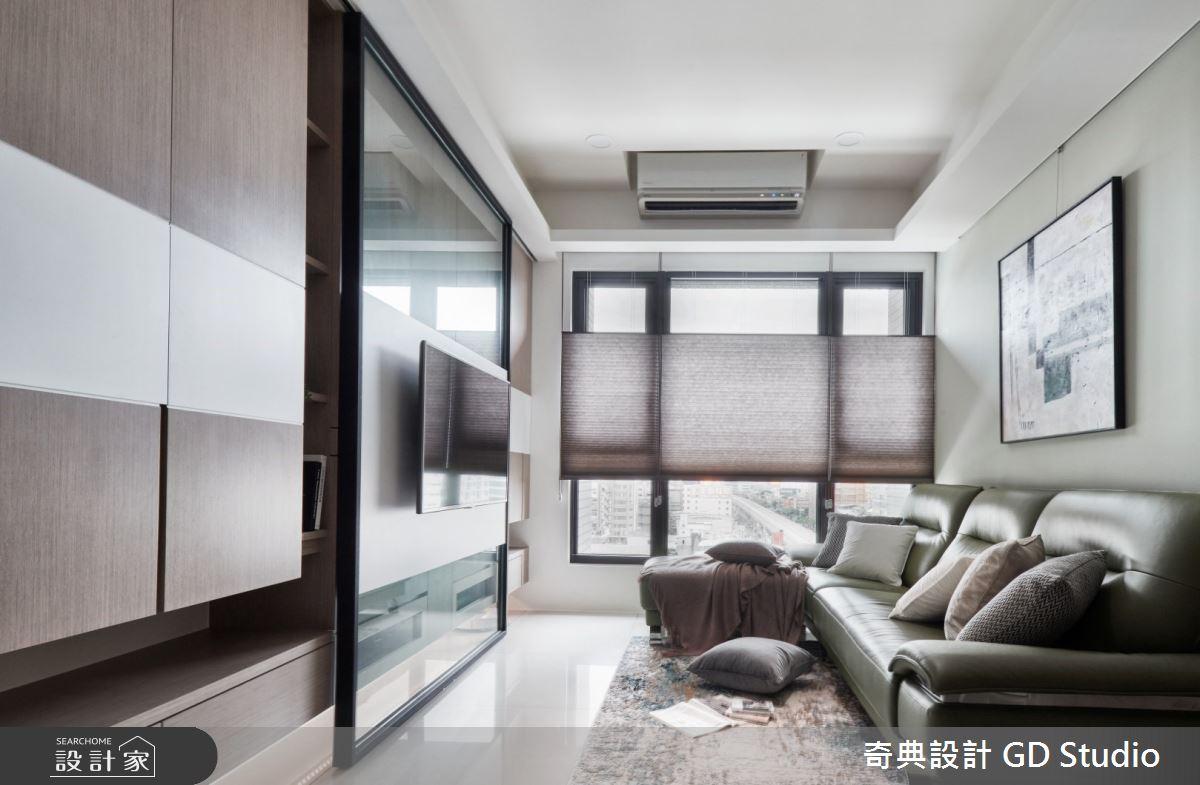 23坪新成屋(5年以下)_現代風客廳案例圖片_奇典設計_奇典_15之2