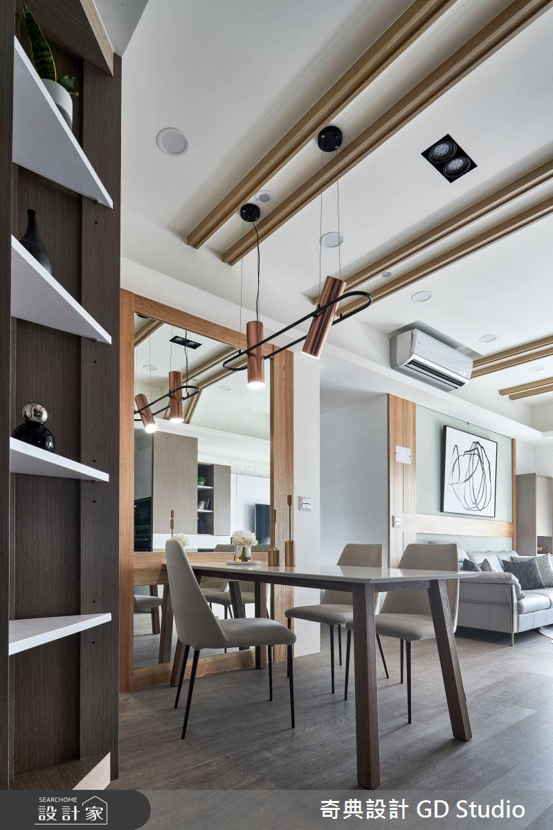 30坪預售屋_現代風玄關餐廳案例圖片_奇典設計_奇典_16之3