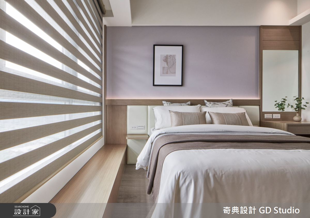 30坪預售屋_現代風臥室案例圖片_奇典設計_奇典_16之14