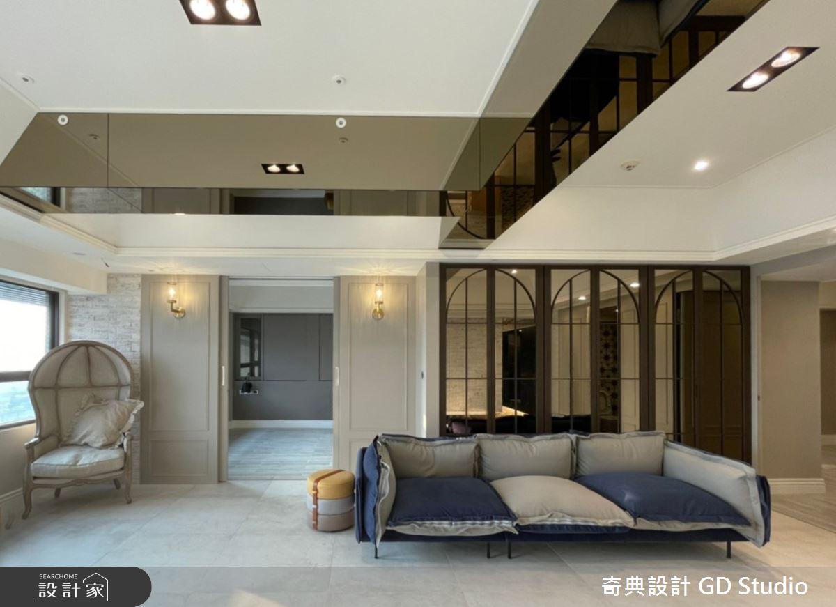 45坪中古屋(5~15年)_法式風客廳案例圖片_奇典設計_奇典_17之2