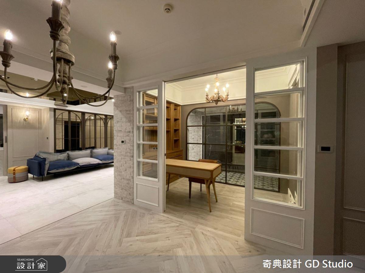 45坪中古屋(5~15年)_法式風書房案例圖片_奇典設計_奇典_17之4