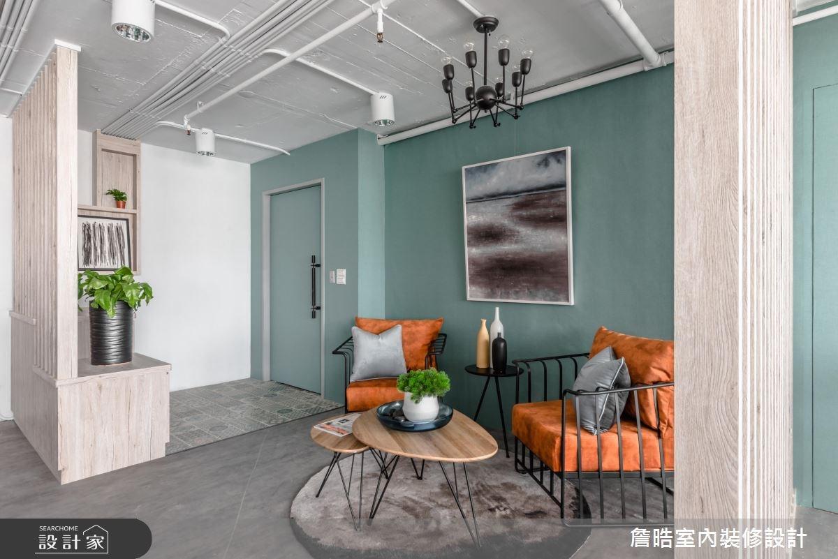 30坪老屋(16~30年)_現代風商業空間案例圖片_詹晧室內裝修設計有限公司_詹晧_01之4