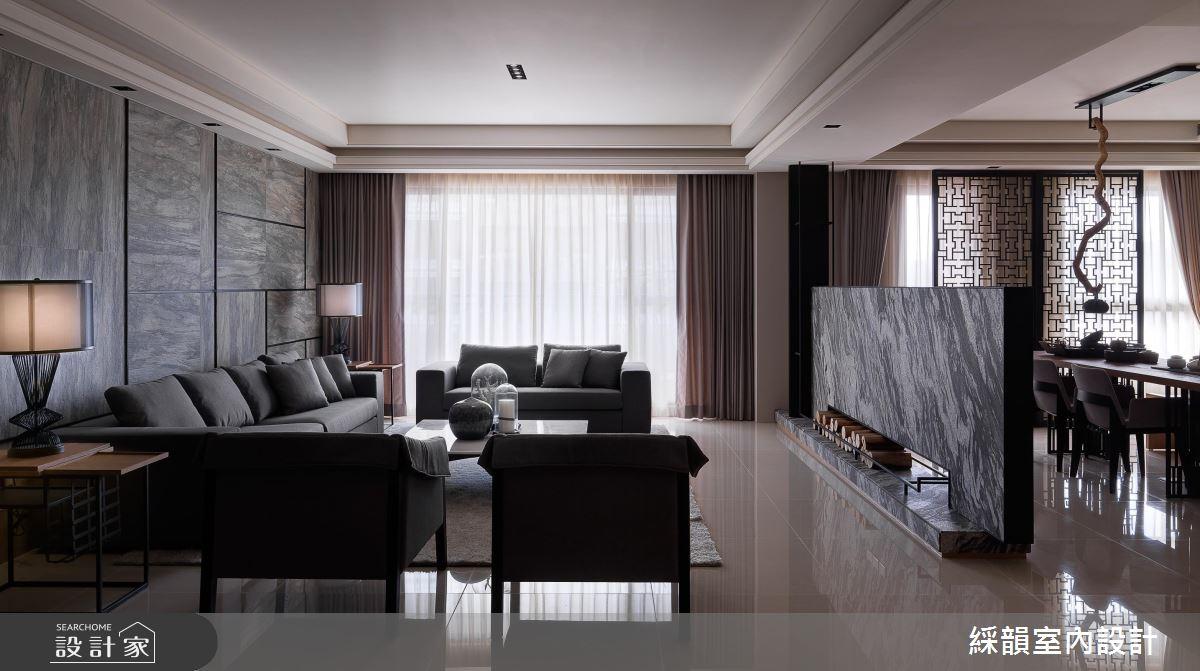 中式豪宅嶄新詮釋,潑墨山水陳釀東方意境